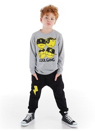 Denokids Cool Gang Erkek Çocuk Pantolon Takım Renkli